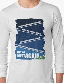 May We Meet Again Long Sleeve T-Shirt