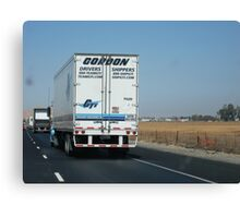 Zoomin down the Highway.......Gordon On The Road Canvas Print