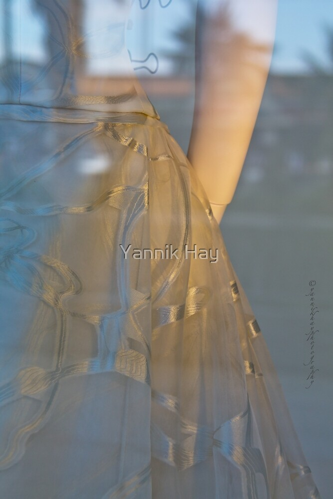 Evening Dress - Blue and Gold by Yannik Hay