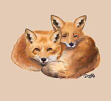 Foxes by danigrillo
