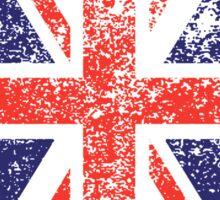 Grunge Union Jack Sticker