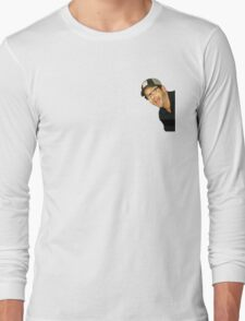 Peeping Burnie Long Sleeve T-Shirt
