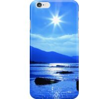 Beach In Blue iPhone Case/Skin