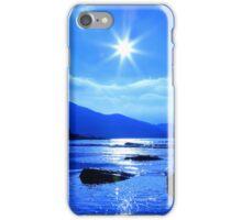 Beach In Blue iPhone Case/Skin