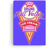 Hill Valley Ice Cream Clone Canvas Print