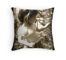 Une mémoire pour ma petite fille Throw Pillow
