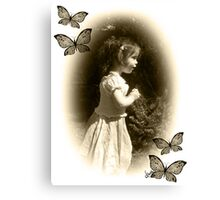 Beauty back in time... Canvas Print