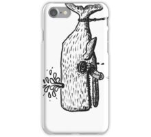 chained whale iPhone Case/Skin