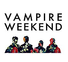 Vampire Weekend Silhouettes  Photographic Print