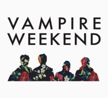 Vampire Weekend Silhouettes  by ingridsuckz