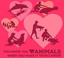 Love Animals - Marine Animal Career by PepomintNarwhal