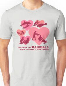 Love Animals - Marine Animal Career Unisex T-Shirt