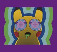 Trippy Pikachu by dopeboy77