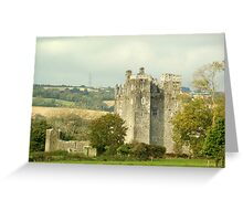 Barryscourt Castle Greeting Card