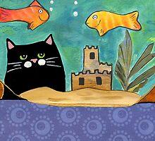 Black Cat & Fishbowl by ChrisQ