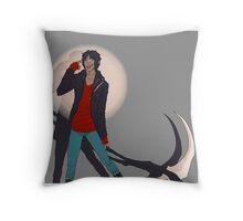 dullahan Throw Pillow