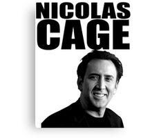 Nicolas Cage Canvas Print
