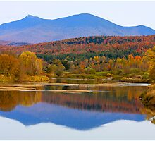 Backdrop To Jay Peak by Deborah  Benoit