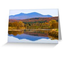 Backdrop To Jay Peak Greeting Card