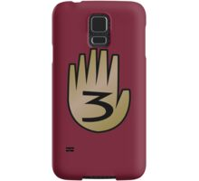 3 Hand Book From Gravity Falls Samsung Galaxy Case/Skin