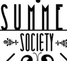 Silas University Summer Society- coloured Sticker