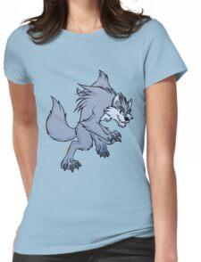 Cute werewolf Womens Fitted T-Shirt