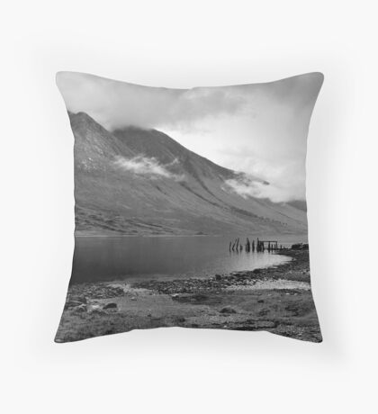 Loch Etive Throw Pillow