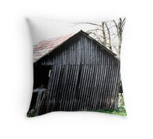 Askew barn Throw Pillow