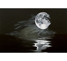 the fullest moon Photographic Print