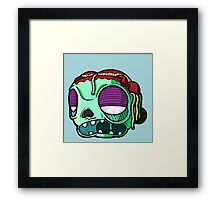 Carnihell #9 spaghetti brains zombie Framed Print