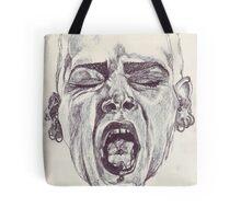 Free Expression Sketch Tote Bag