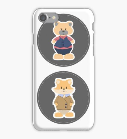 Giraffe. Bear. Foxes. Bunny iPhone Case/Skin
