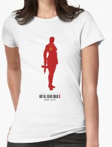 THE BOSS (MGS3) Womens Fitted T-Shirt