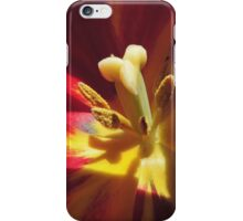 Shaddow and Light in a Tulip's Heart iPhone Case/Skin