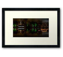 Night city (Nantong 10) Framed Print