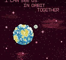 I Can See Us In Orbit Together by FleetingBreeze