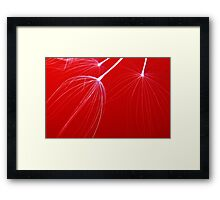 Realistic Abstract Framed Print