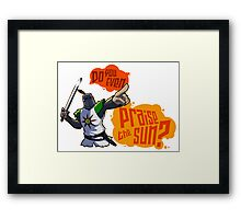 Do you even PRAISE THE SUN? Framed Print