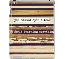 Open A Book iPad Case/Skin