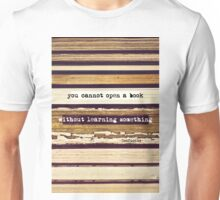 Open A Book Unisex T-Shirt
