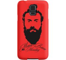 Man Bun Monday Samsung Galaxy Case/Skin