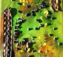 The Joy of Wattle I by paulinejollow