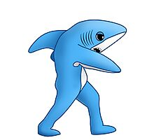 Super Bowl Shark Photographic Print