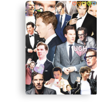 benedict cumberbatch collage Canvas Print