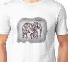 Mom Elephant  Unisex T-Shirt