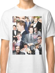 benedict cumberbatch collage Classic T-Shirt