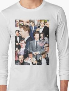 benedict cumberbatch collage Long Sleeve T-Shirt