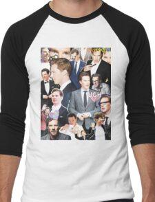 benedict cumberbatch collage Men's Baseball ¾ T-Shirt
