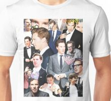 benedict cumberbatch collage Unisex T-Shirt