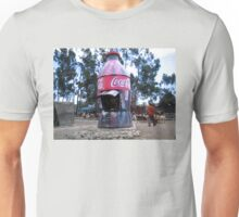 Coke Shop, Addis Ababa, Ethiopia Unisex T-Shirt